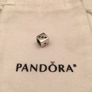 Pandora Charm Dice Sterling Silver Limited Edition